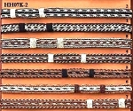 Horsehair 7-Strand Hatband w/ Double Knots